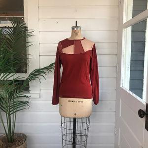 Vintage Esprit 70's Long Sleeve Top